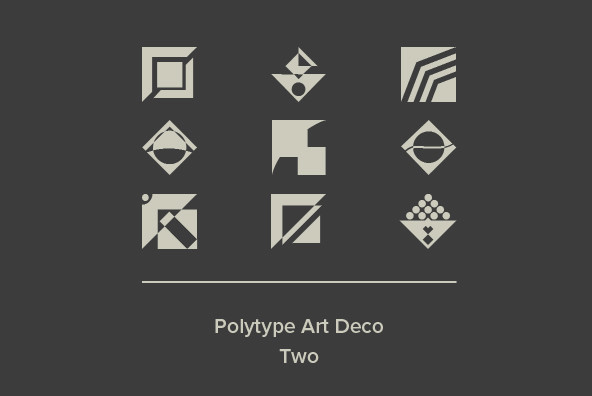 Polytype Art Deco Two