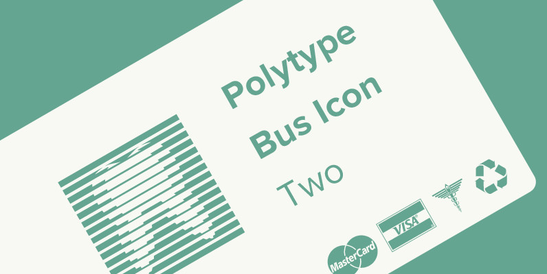 Polytype Business Icon Two