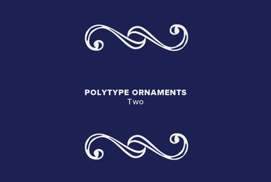 Polytype Ornaments Two