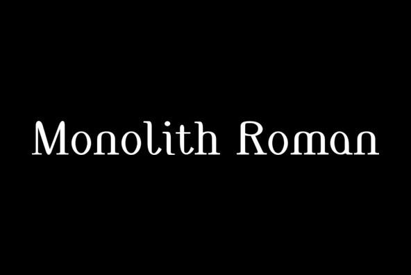 Monolith Roman