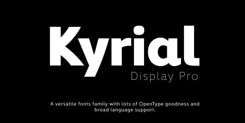 Kyrial Display Pro