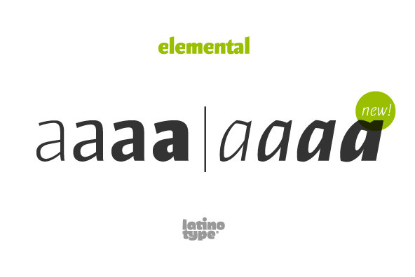 Elemental Sans Pro