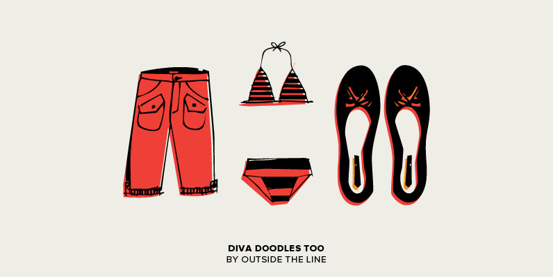 Diva Doodles Too