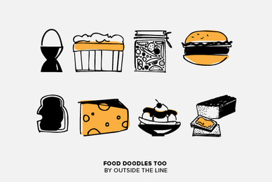 Food Doodles Too