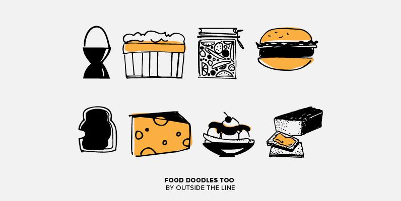 Food Doodles Too