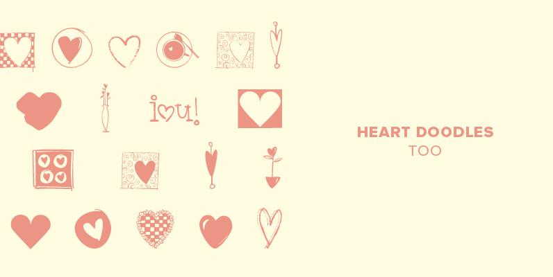 Heart Doodles Too