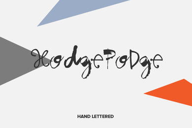 Hodgepodge Hand Lettered