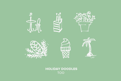 Holiday Doodles Too