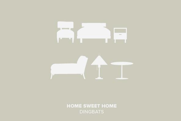 Home Sweet Home Dingbats