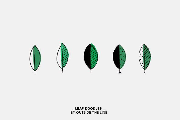 Leaf Doodles