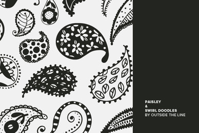 Paisley  Swirl Doodles