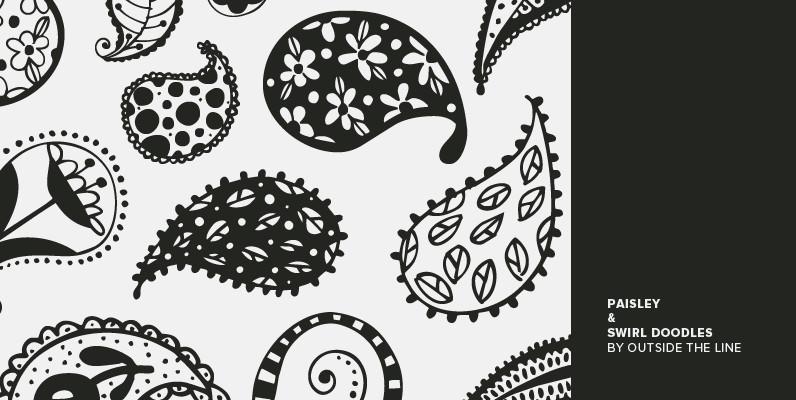 Paisley & Swirl Doodles