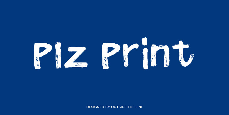 Plz Print Brush