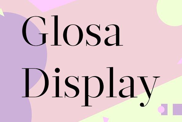 Glosa Display