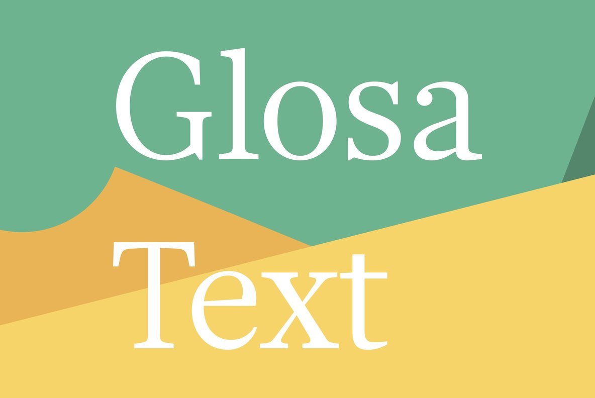 Glosa Text