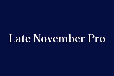 P22 Late November Pro