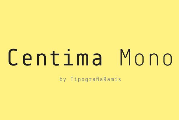 Centima Mono
