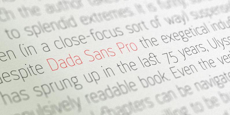 Dada Sans Pro
