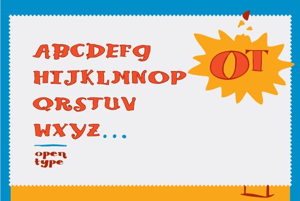 Blue Goblet Serif