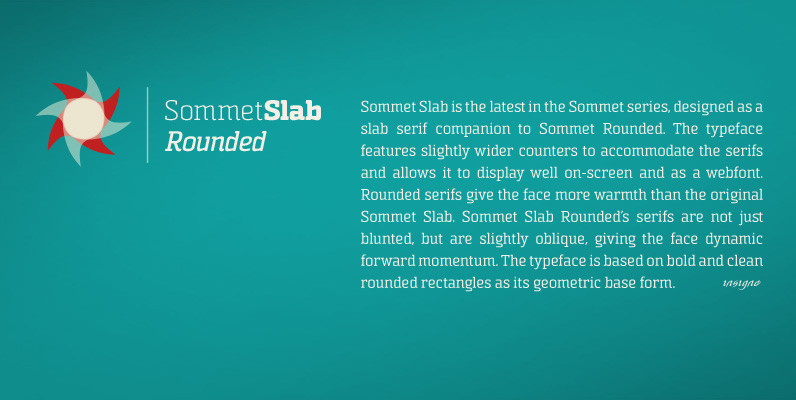 Sommet Slab Rounded