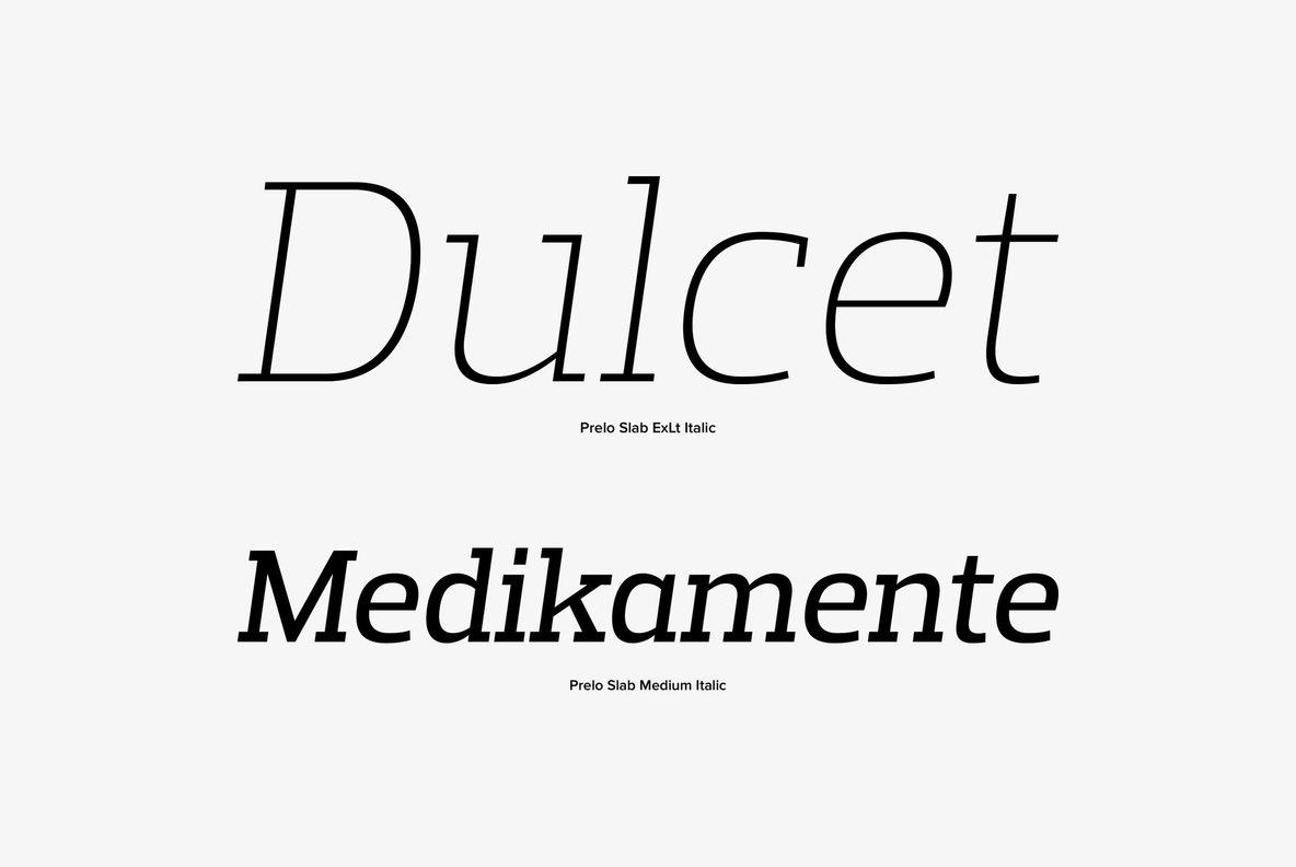 Prelo slab Fonts Free Download
