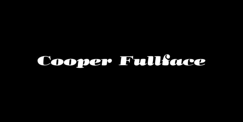 Cooper Fullface
