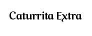 Caturrita Extra