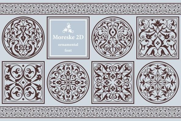 Moreske 2D