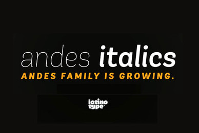 Andes Italic