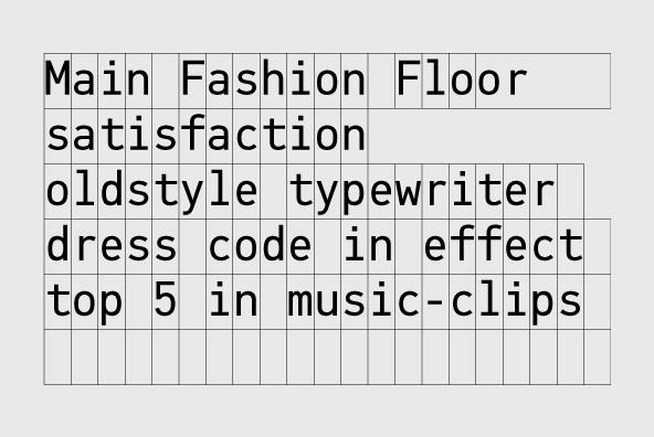 pf din monospace desktop font webfont youworkforthem. Black Bedroom Furniture Sets. Home Design Ideas
