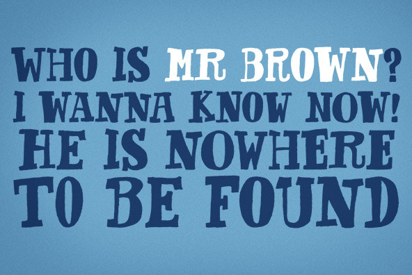 Mr Brown