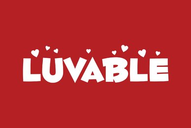 Fontdinerdotcom Luvable
