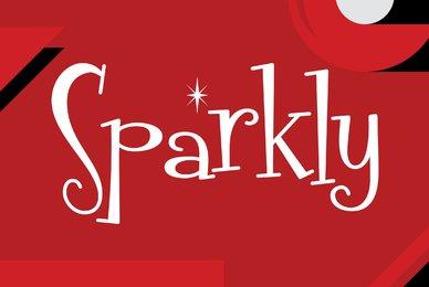 Fontdinerdotcom Sparkly