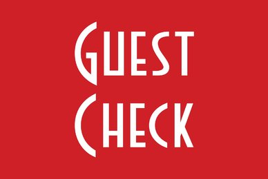 Guest Check