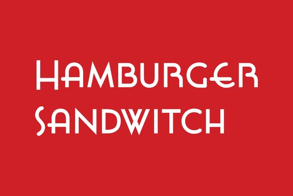 Hamburger Sandwitch