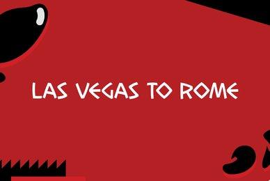 Las Vegas to Rome