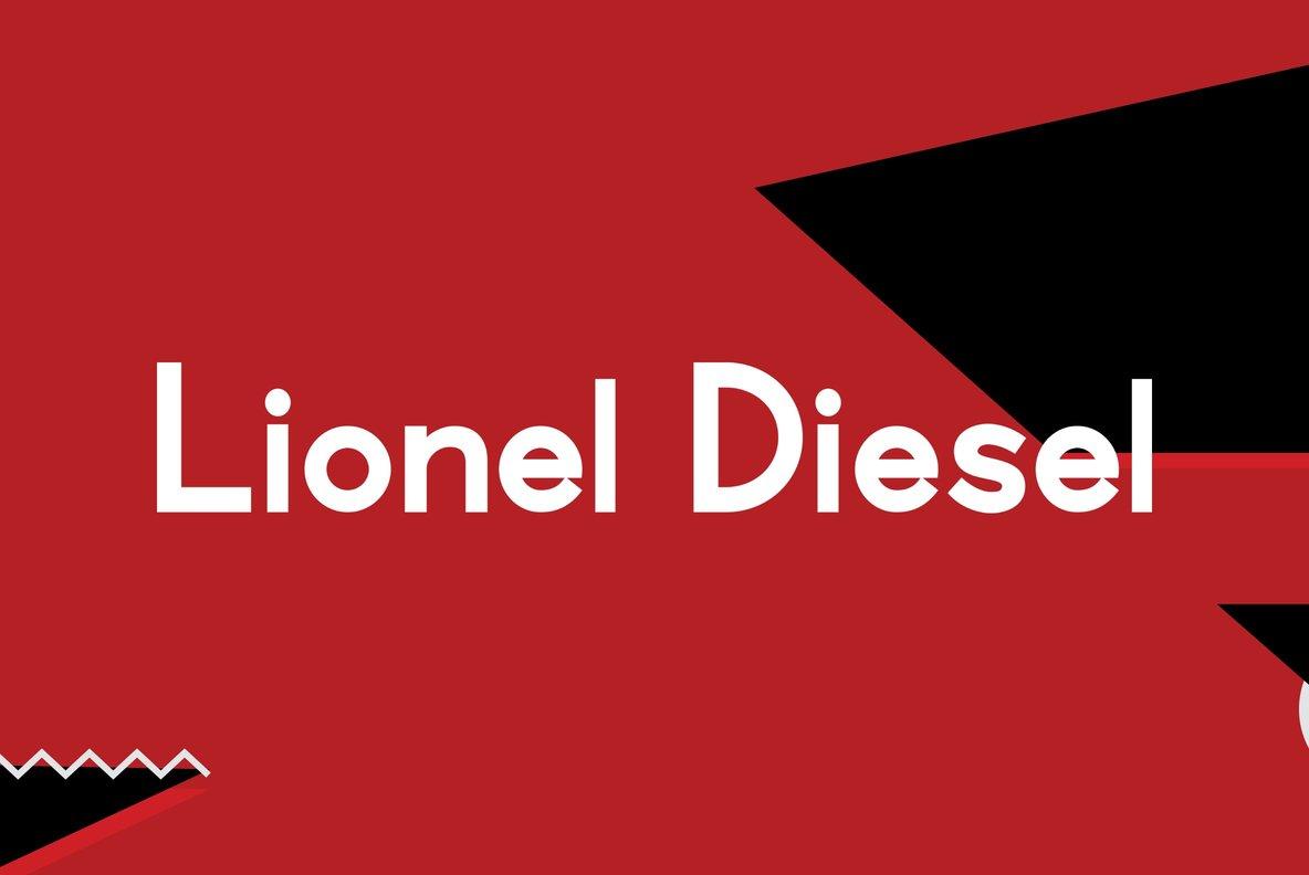Lionel Text Diesel
