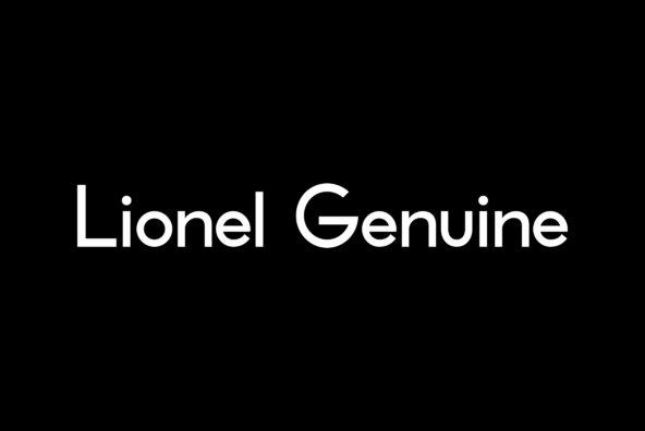 Lionel Text Genuine