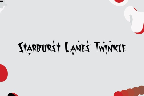 Starburst Lanes Twinkle