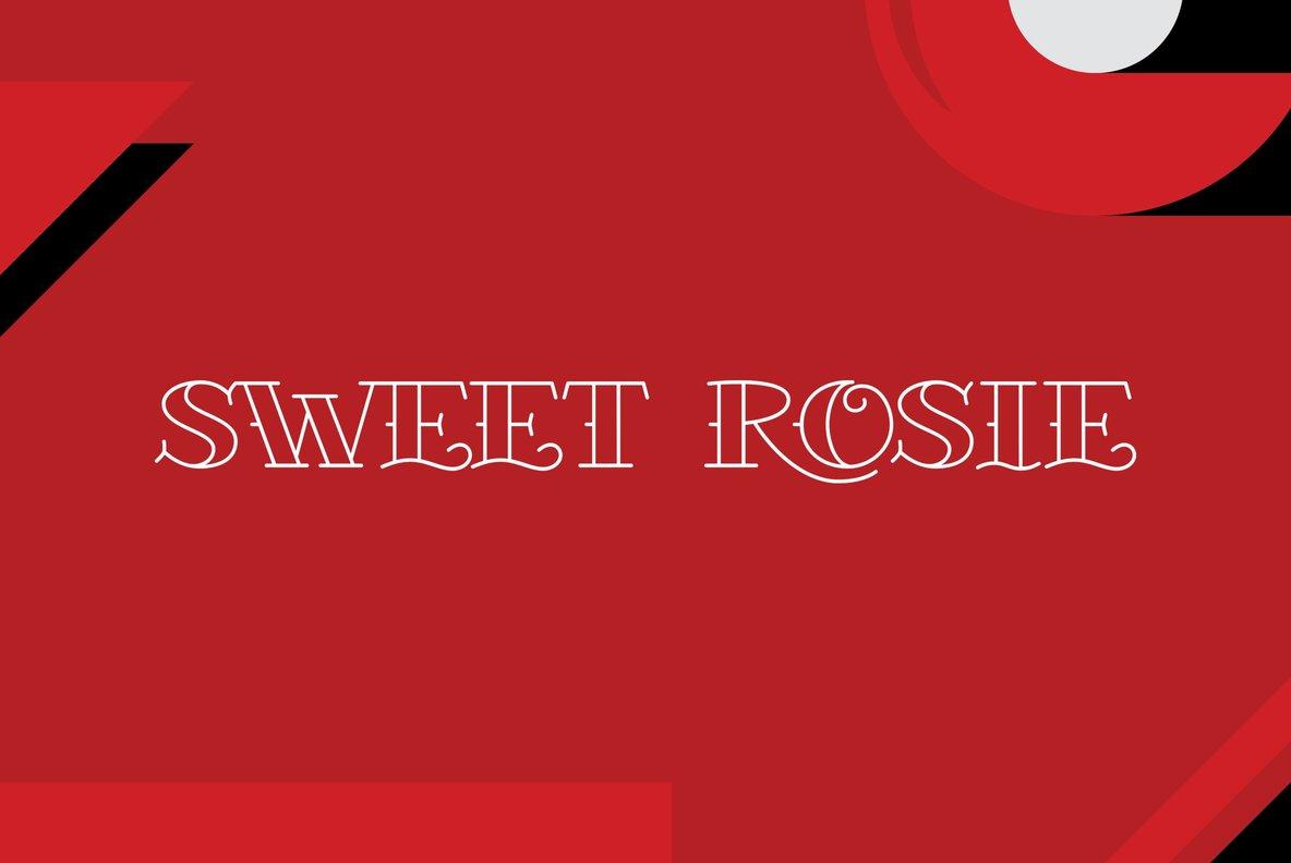 Sweet Rosie