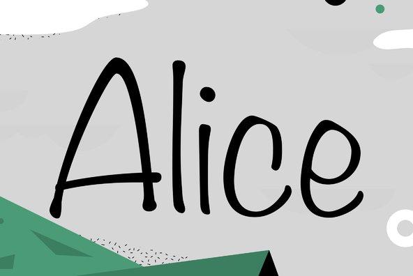 Filmotype Alice