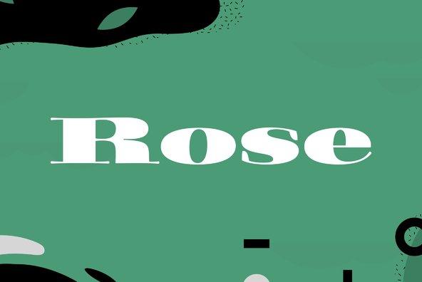 Filmotype Rose