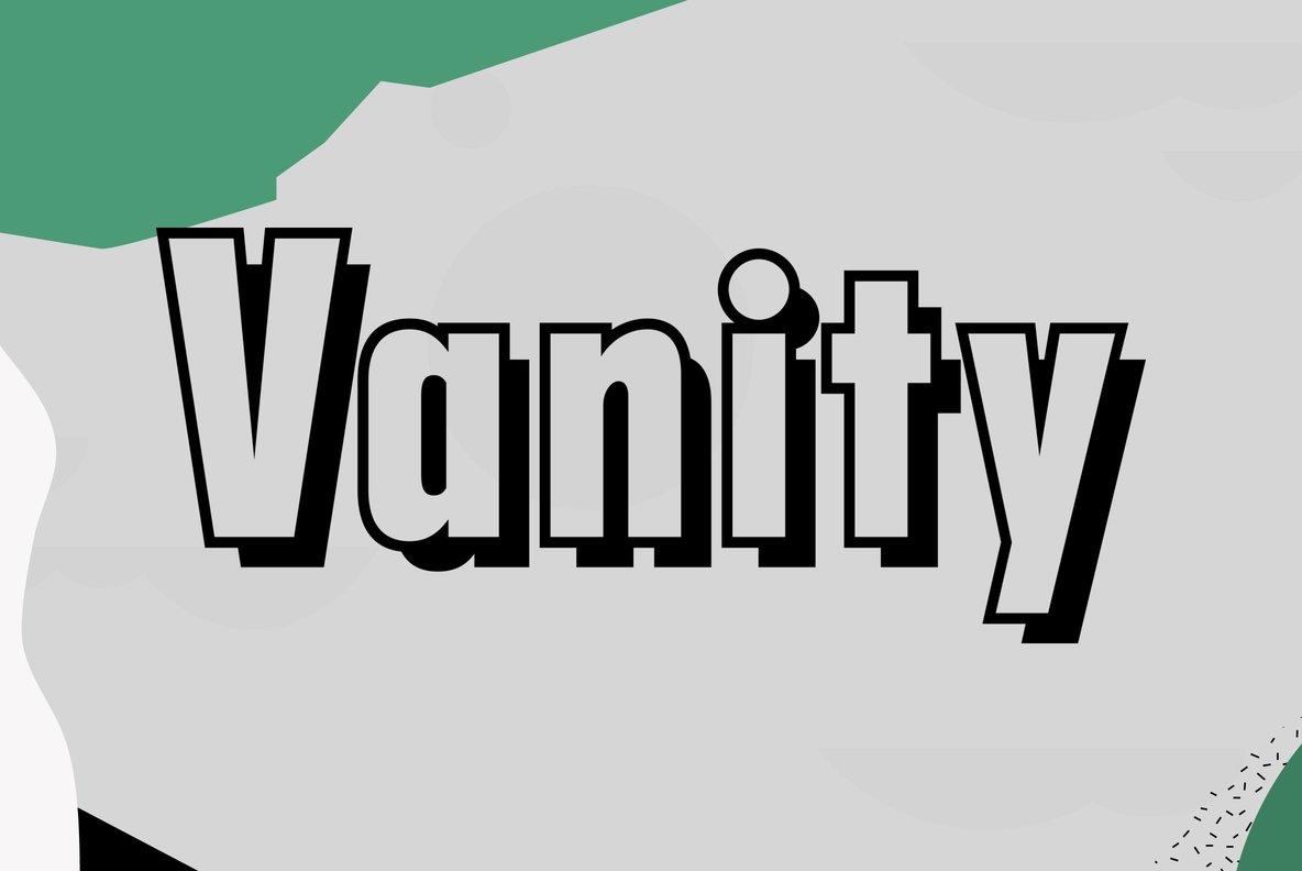 Filmotype Vanity