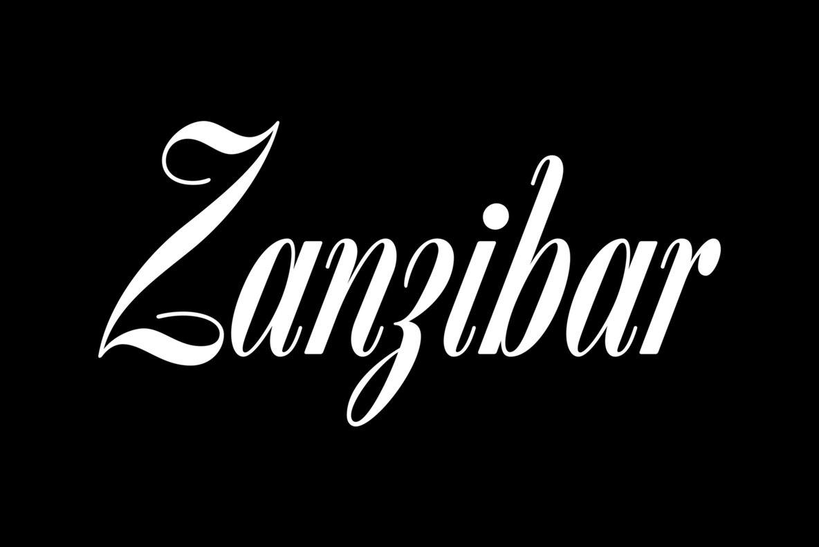 Filmotype Zanzibar