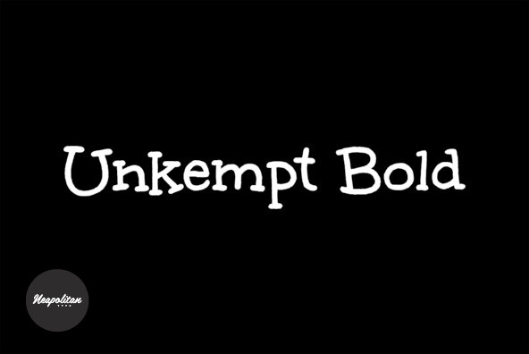 Unkempt Bold Pro