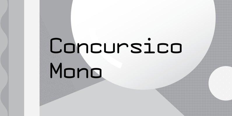 Concursico Mono