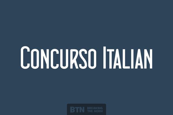 Concurso Italian