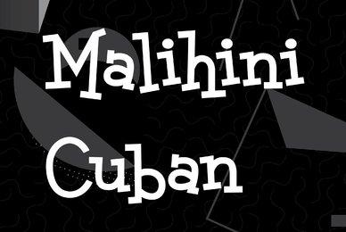 Malihini Cuban
