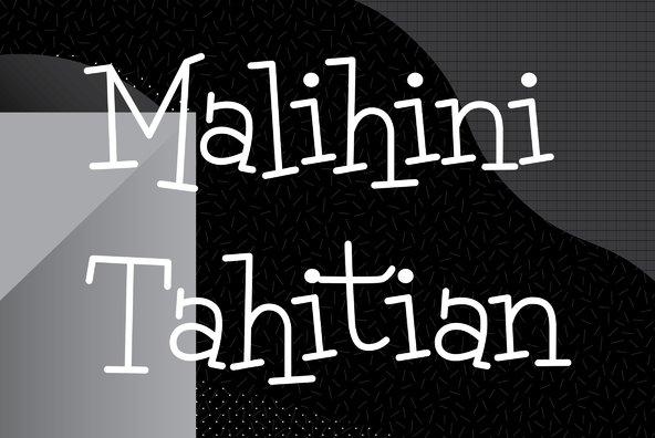Malihini Tahitian