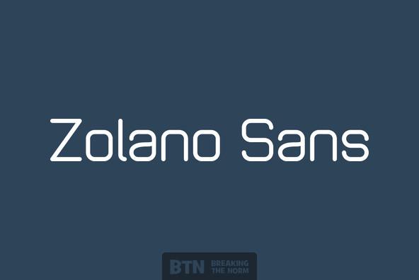 Zolano Sans